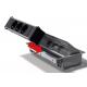 Mediaport Bachmann Coni, antracytowy, 6x 230V