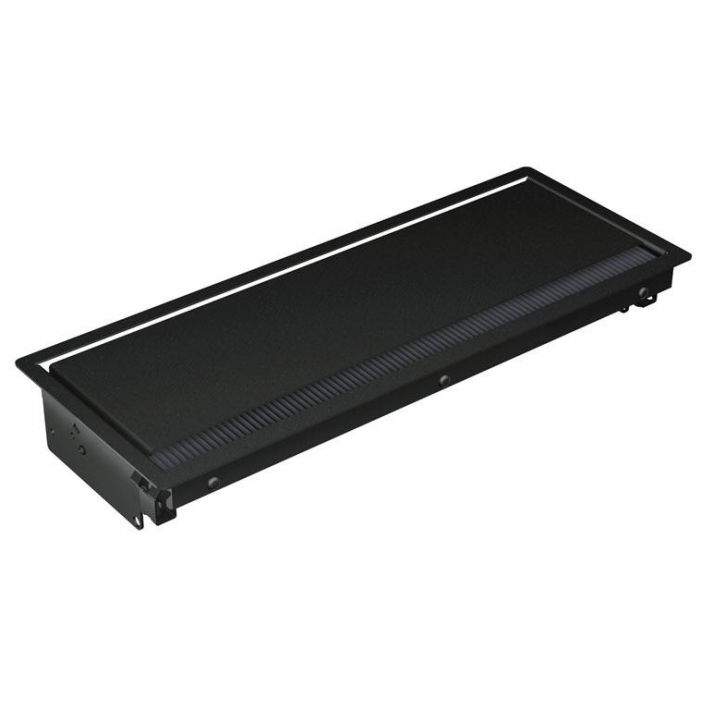 Mediaport Bachmann Coni, czarny, 6x 230V