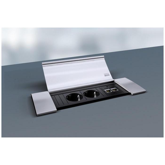 Bachmann Power Frame Cover Data aluminium - Mediaport