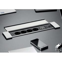 Bachmann Power Frame Cover Multimedia aluminium