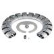 Kręgosłup kablowy Bachmann Premium-Set, srebrny