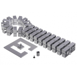 Kręgosłup kablowy Bachmann Quadro-Set, srebrny