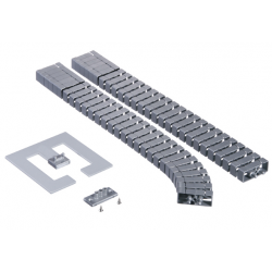 Kręgosłup kablowy Bachmann Flex II-Set, srebrny