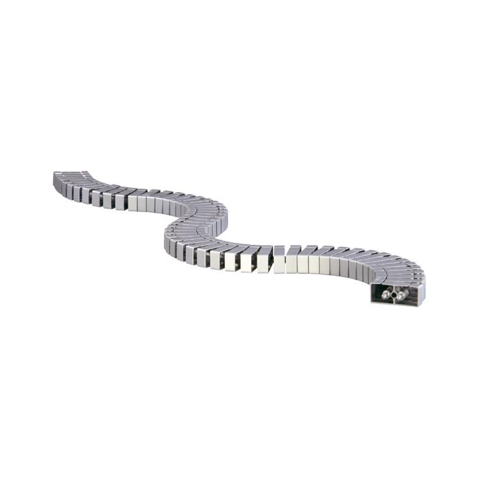 Przedłużenie kręgosłupa Bachmann Flex II-Set, srebrny