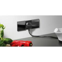 Bachmann DUE 230V Czarny z łądowarką USB Charger